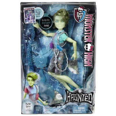 haunted student spirits porter geiss new monster high dolls packaging