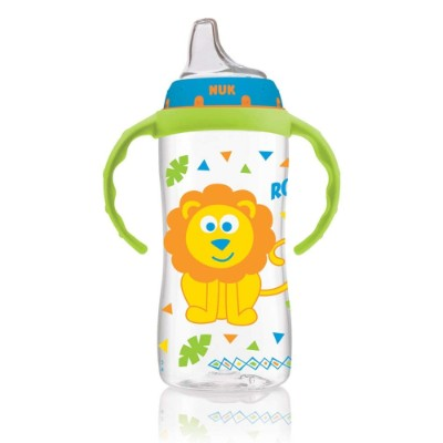NUK jungle designs large learner sippy cup for toddlers lion
