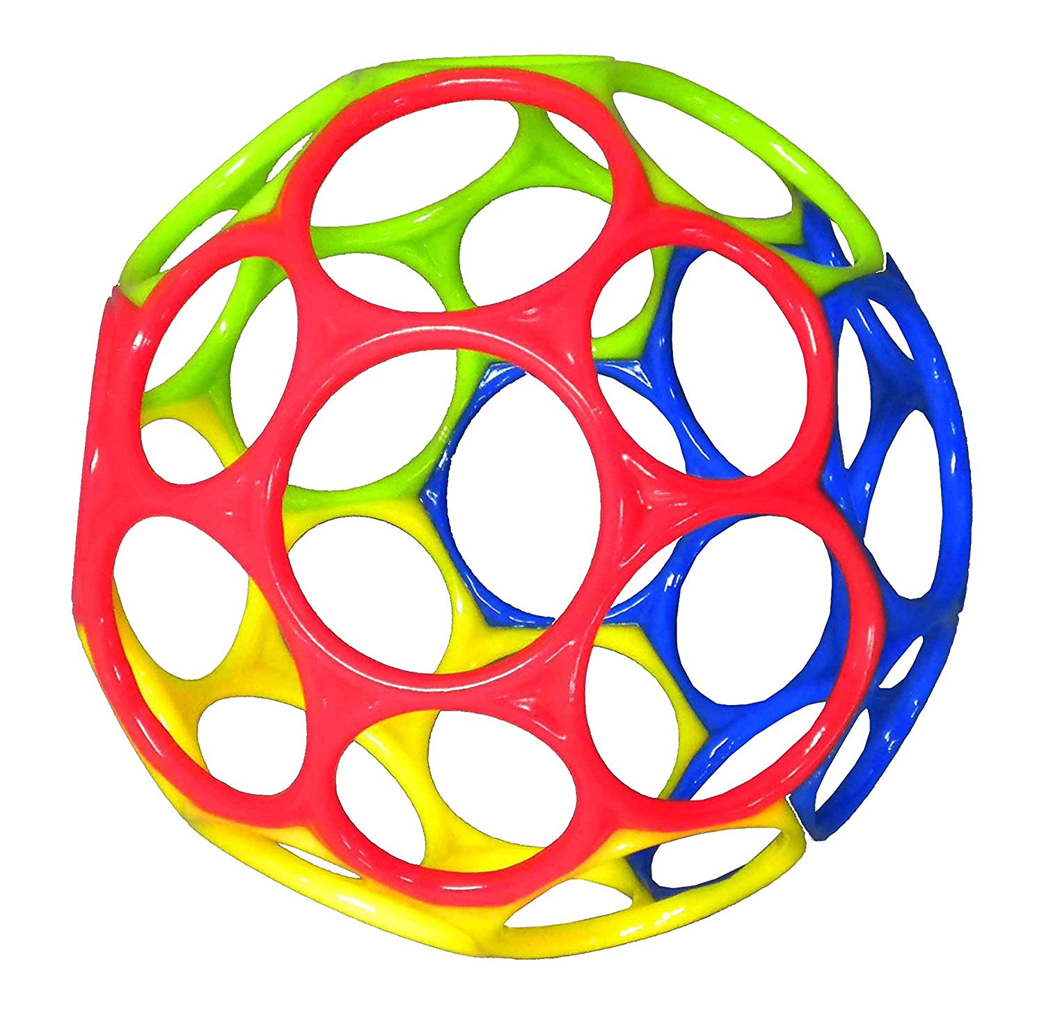 The OBall Toy is flexible and bendable.
