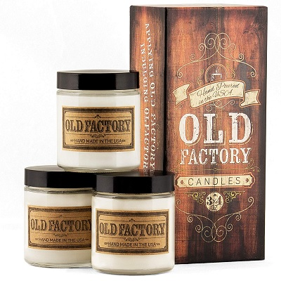 Old Factory Christmas Candles
