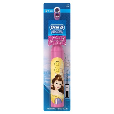 oral-b pro-disney princess electric toothbrush for kids and toddlers packaging