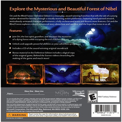 ori and the blind forest xbox one games for kids back