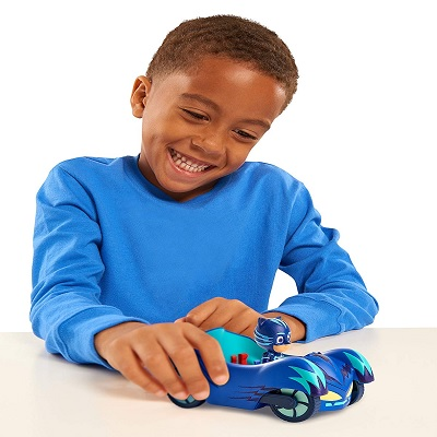 pj masks deluxe car toy kid playing