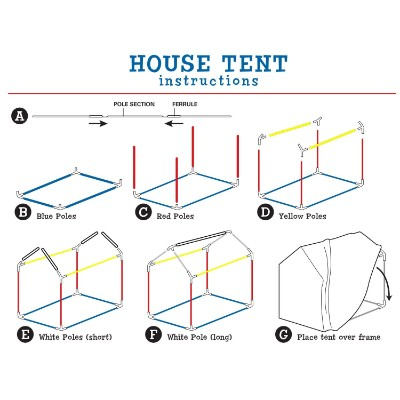 pacific play club house kids play tents how to install