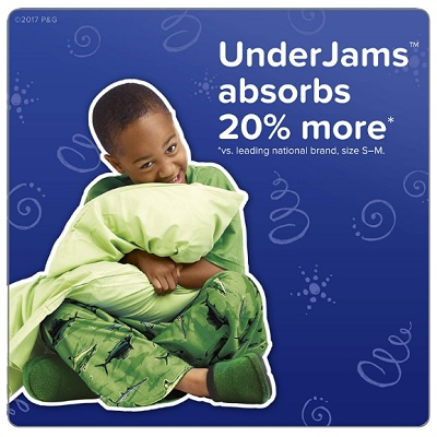 pampers underjams disposable overnight diapers absorbent