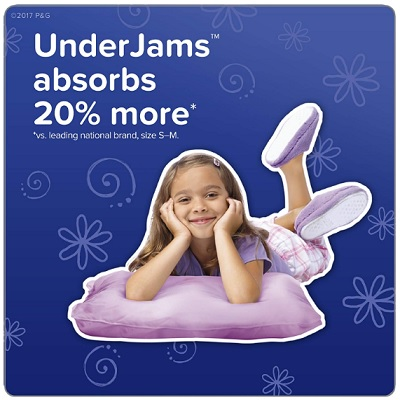 pampers underjams for girls overnight diapers absorbent