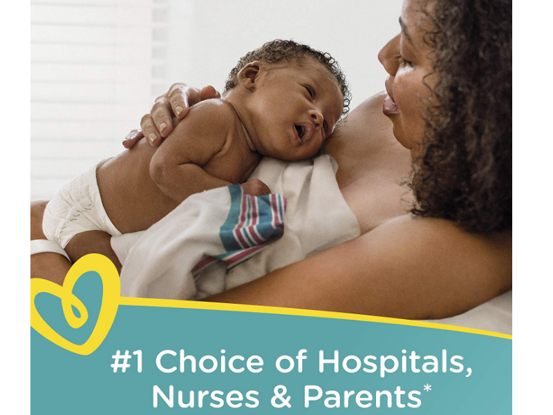 Pampers Swaddlers Disposable Diapers are the number one choice of hospitals for newborns.