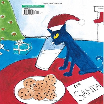 pete the cat saves christmas book back