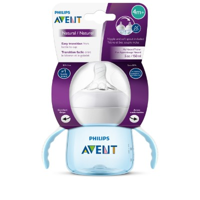 philips avent my natural trainer sippy cup for toddlers pack