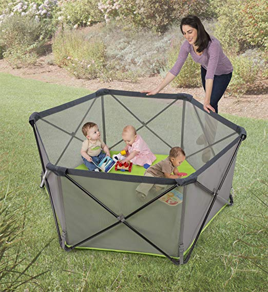 Summer Infant Pop N' Play is a great playard for outdoors, as well as indoors.