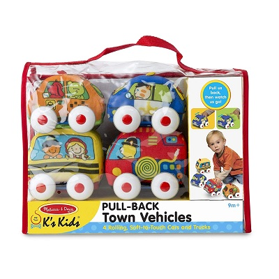 melissa & doug pull-back set toy cars package
