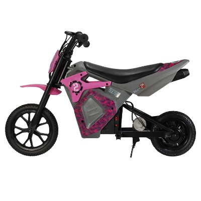EM-1000 E-motorcycle electric dirt bike for kids side view