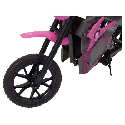 EM-1000 E-motorcycle electric dirt bike for kids front tire