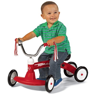 radio flyer scoot-about big wheels for kids kid riding