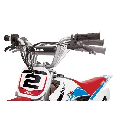 mcGrath rocket motocross electric dirt bike for kids front