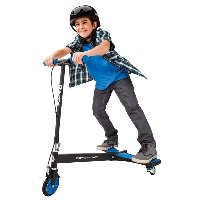 powerWing caster kids scooter rider