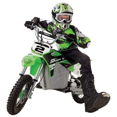 razor SX500 mcGrath rocket electric dirt bike for kids kid riding
