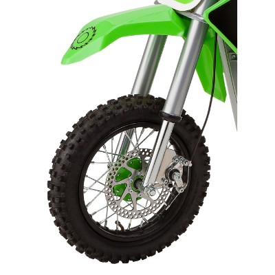 razor SX500 mcGrath rocket electric dirt bike for kids front tire