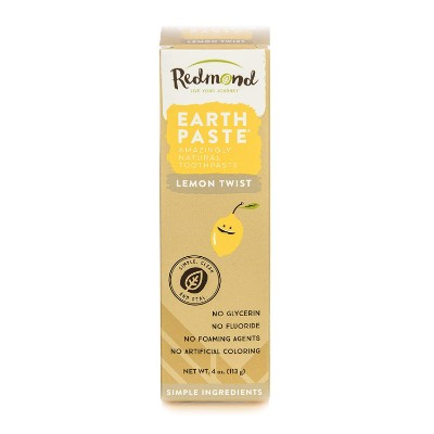 redmond earthpaste non-flouride toddler toothpaste pack
