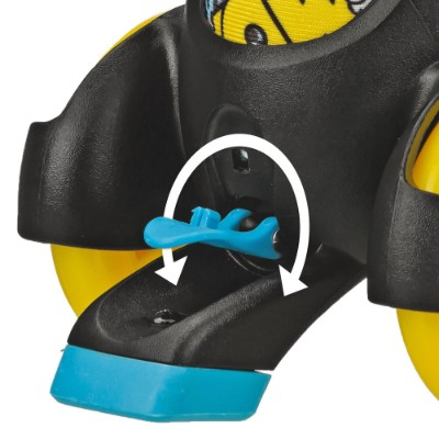 boy's fun roll adjustable roller skates for kids feature