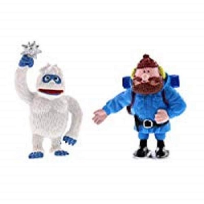 rudolph red nosed reindeer christmas toy snowman and climber