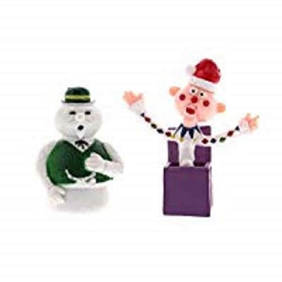 rudolph red nosed reindeer christmas toy figures 2