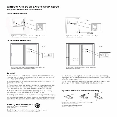 Safety Innovations 4-Pack Best Window Locks information