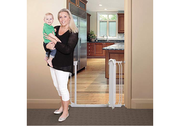 The Dreambaby Chelsea Security Gate is great for pets too.