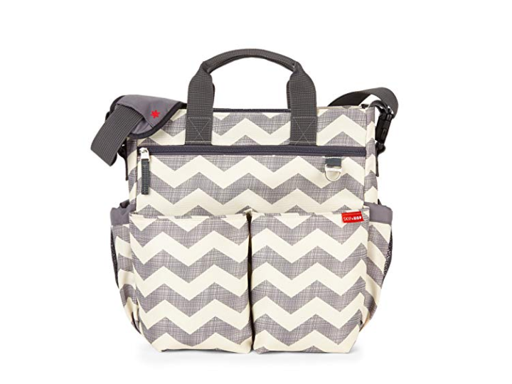 The Skip Hop Duo Diaper Bag is not only modern but functional too.