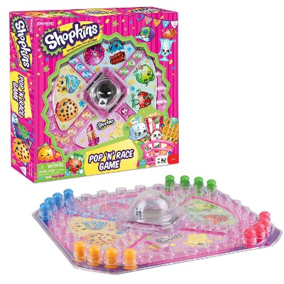 pop n race game shopking toys for kids set