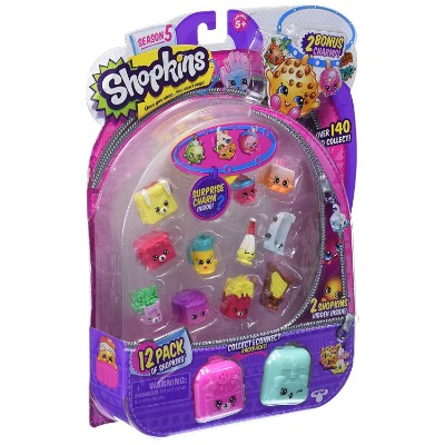 moose toys season 5 12-pack shopkins toys for kids package