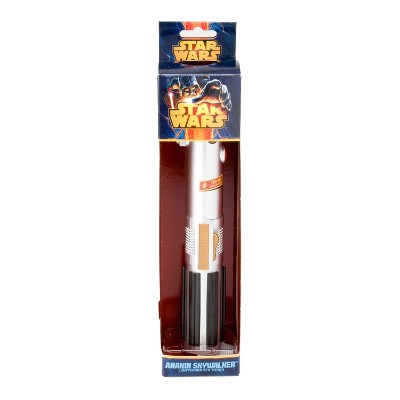 anakin skywalker lightsaber star wars toy pack