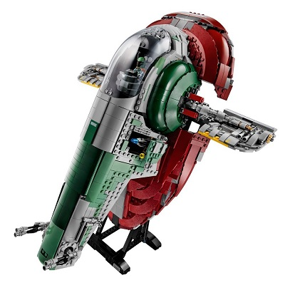 lego star wars slave I 2000 pieces