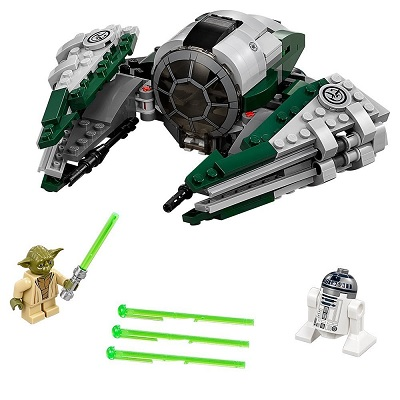 LEGO star wars yoda's jedi starfighter pieces