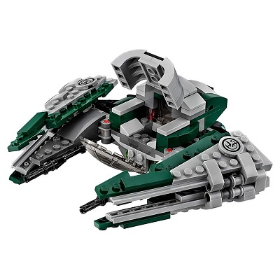 LEGO star wars yoda's jedi starfighter side look