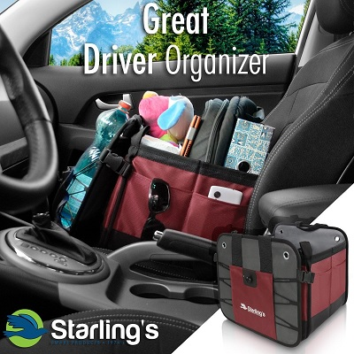 starlings car and trunk organizer