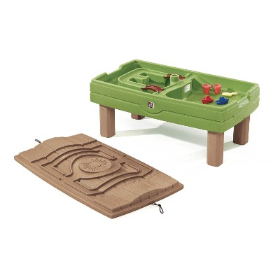 step2 naturally playful center sand & water table for kids and toddlers uncovered