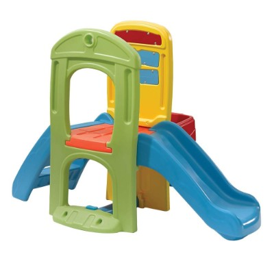 step2 play ball fun climber indoor toddler slides side view