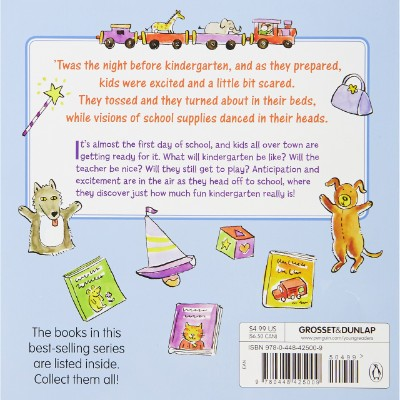the night before kindergarten book for 5 year olds back