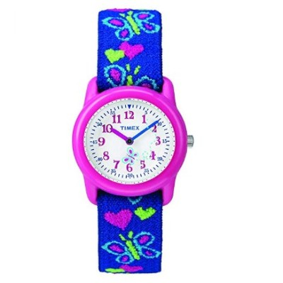 timex girls time machines pink watch for kids blue