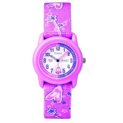 timex girls time machines pink watch for kids purple