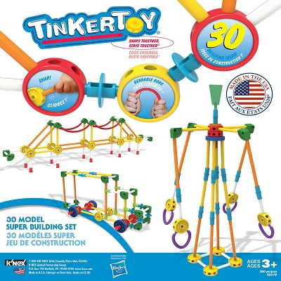 Tinkertoy 30 Model Super Building kit