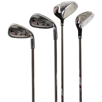 tour edge HT max-j junior golf sets for kids close up