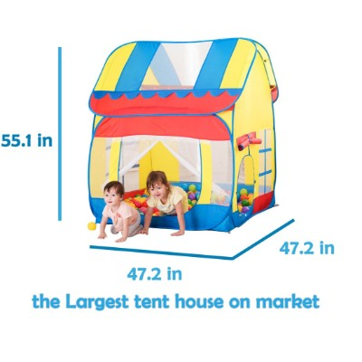 truedays outdoor indoor fun kids play tent dimensions