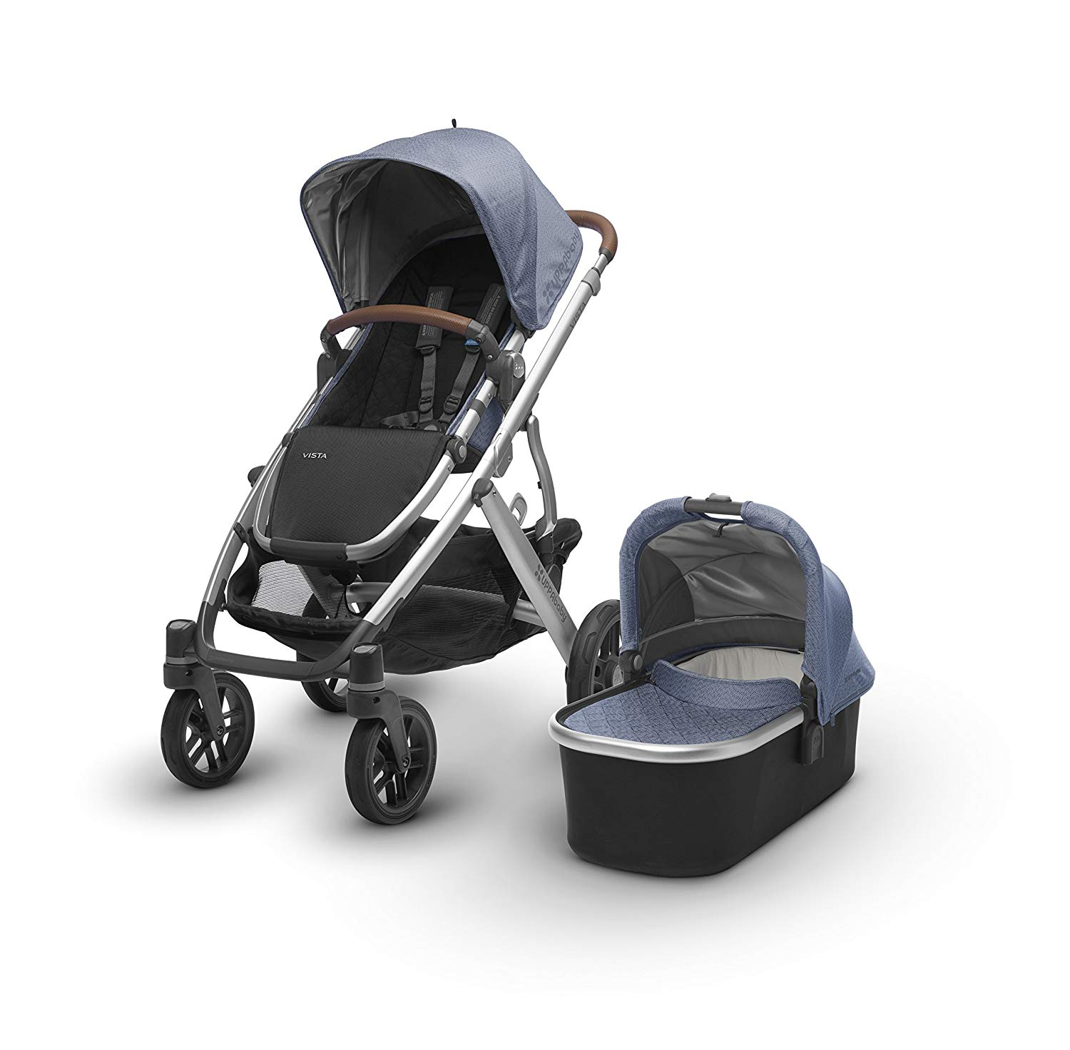 The UPPAbaby Vista Stroller is compatible with MESA Infant Car Seat.