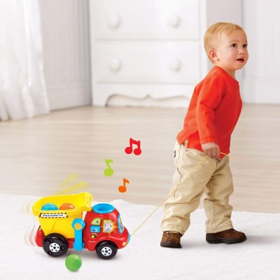 vTech drop & go dump truck pull toys for kids toddler