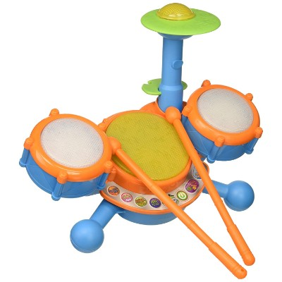 vTech kidiBeats drum sets for kids and toddlers top view
