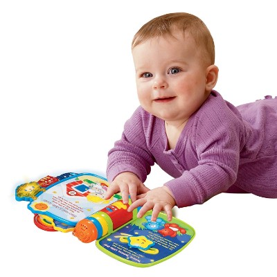 vTech rhyme & discover book musical baby toy playtime