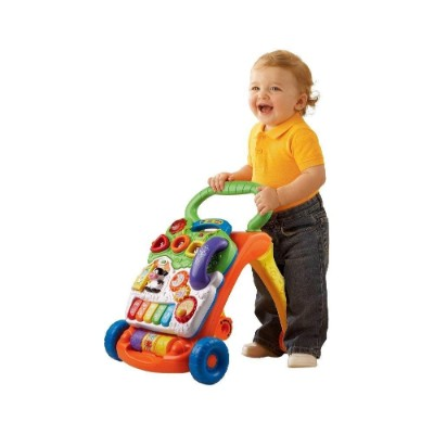 vTech sit to stand walker learning toys for kids and toddlers walk