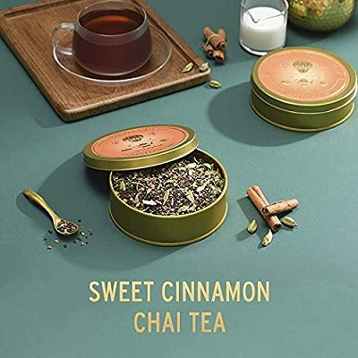 vahdam chai tea christmas gift for mom cinnamon